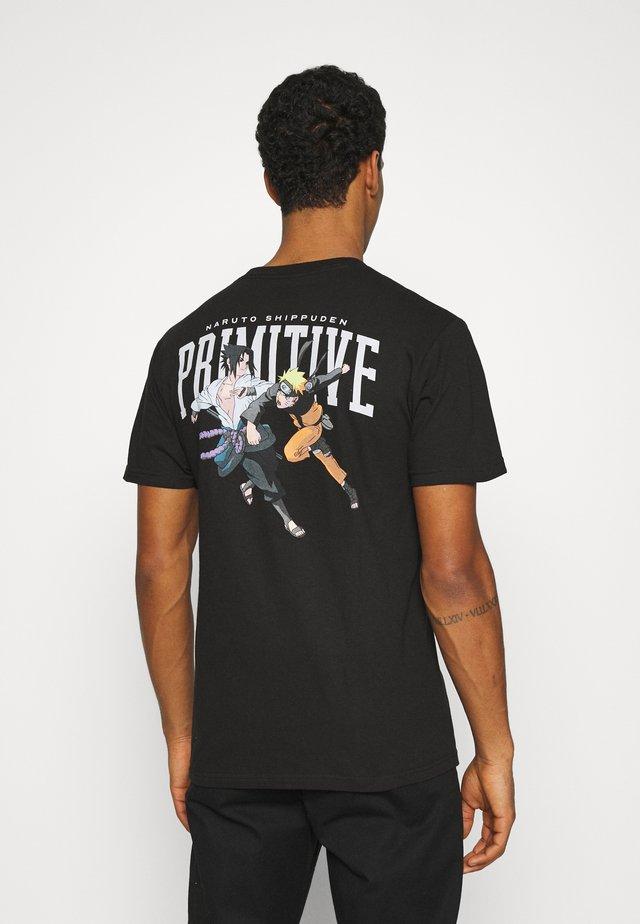 VERSUS TEE - T-shirts print - black