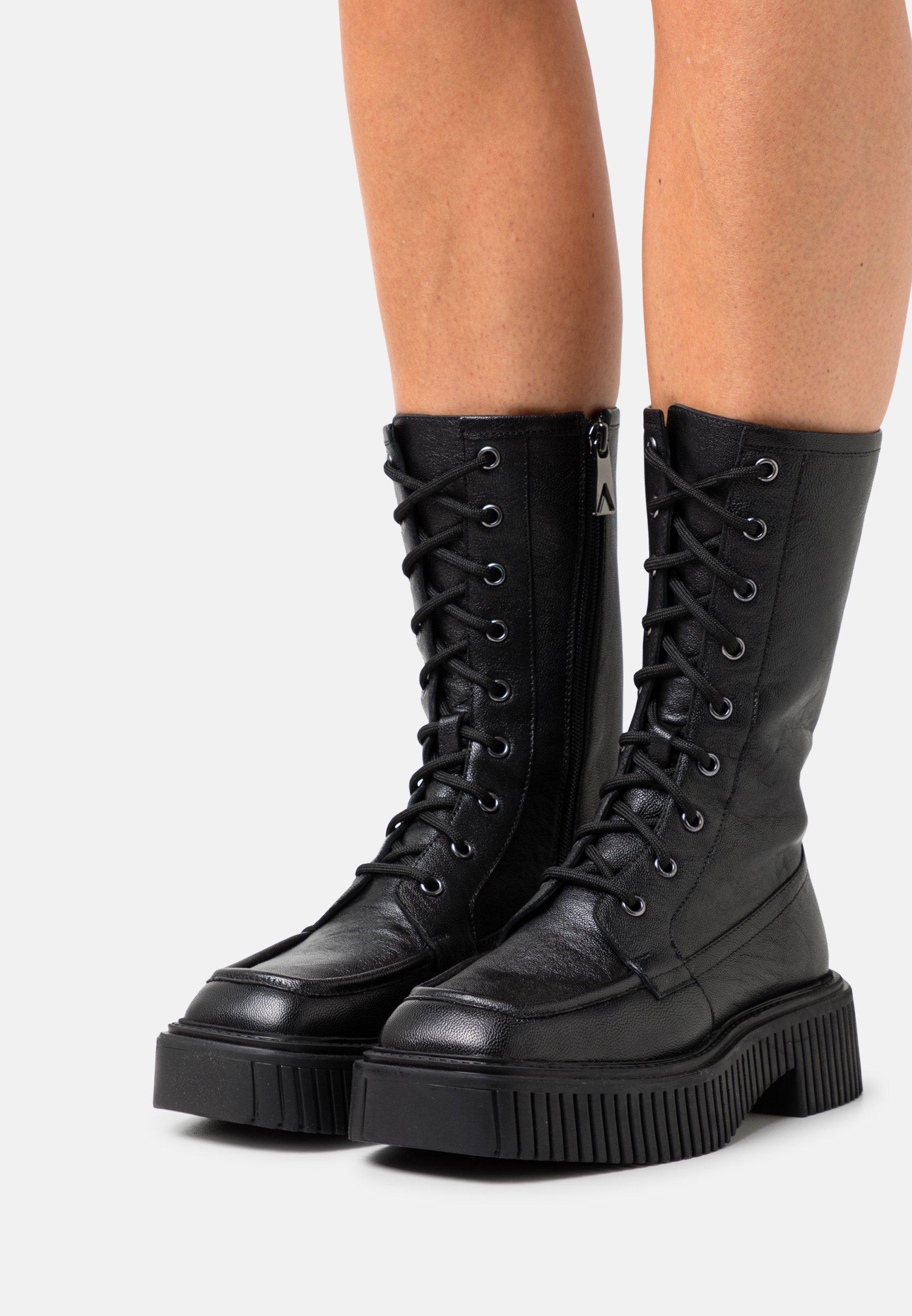 Women BLAKE - Platform boots - black