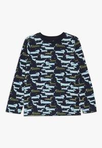 Zalando Essentials Kids - 4 PACK - Langærmede T-shirts - light grey melange/red - 3
