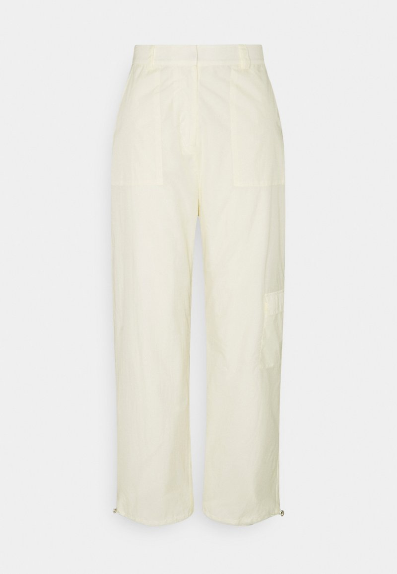 NA-KD - PANTS - Pantalones cargo - light beige