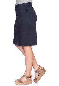 Sheego - Denim skirt - marine - 3
