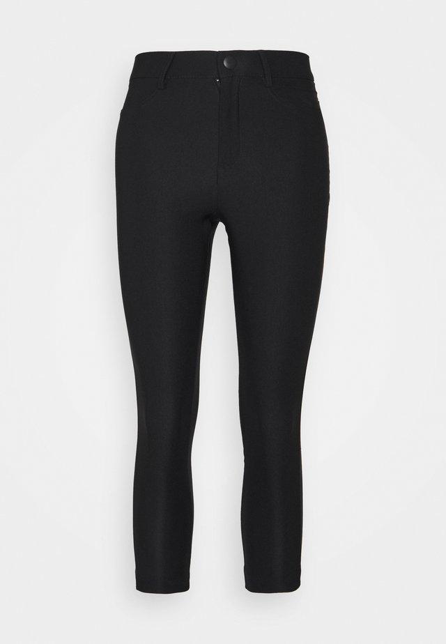 VMAUGUSTA SKINNY SOLID PANT - Kalhoty - black
