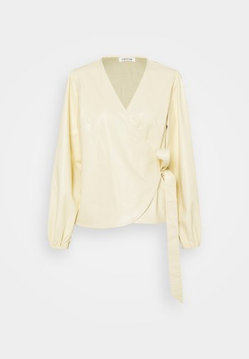 PAPINA BLOUSE - Bluser - beige