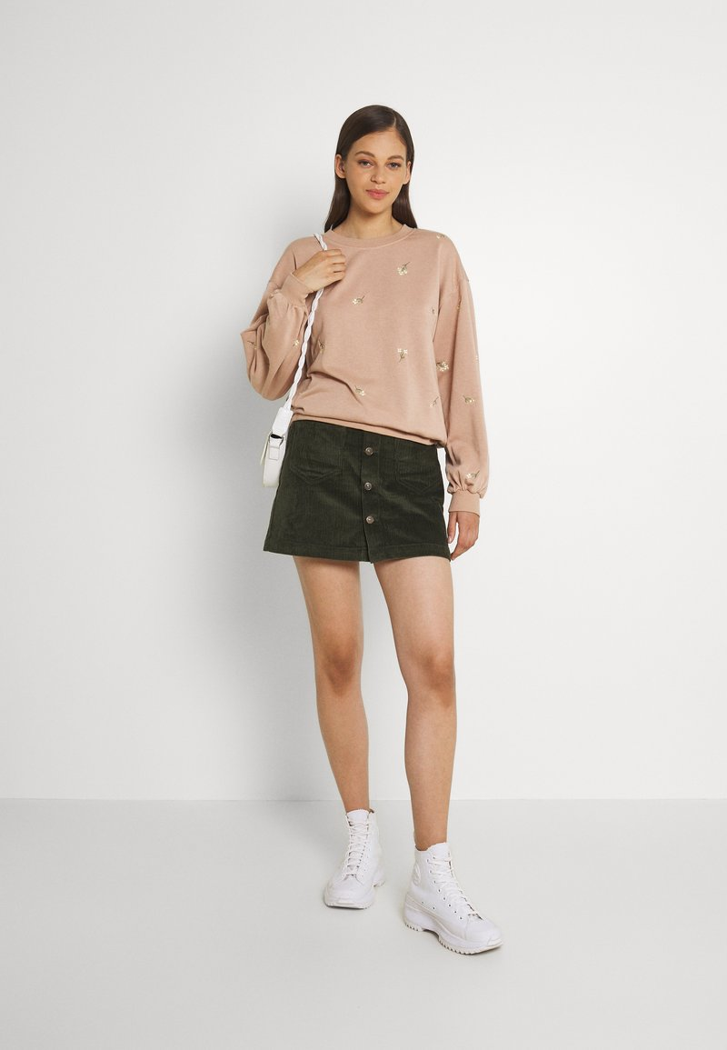 ONLY - ONLAMAZING LIFE SKIRT - A-line skirt - forest night