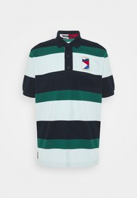 CASUAL  - Polo shirt - desert sky/oxygen/rural green