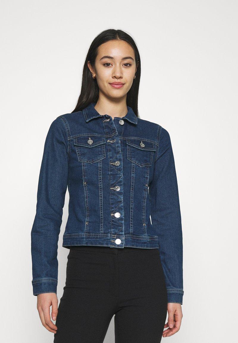 ONLY - ONLWONDER LIFE JACKET - Denim jacket - medium blue denim