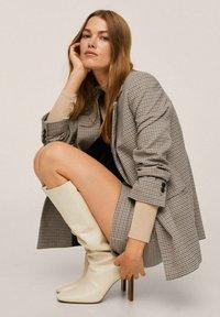 Mango - A-line skirt - marron - 3