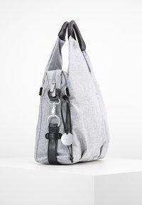 Lässig - NECKLINE BAG - Baby changing bag - black melange - 3