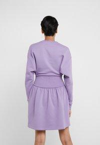 Opening Ceremony - MINI RIB DRESS - Day dress - purple - 2