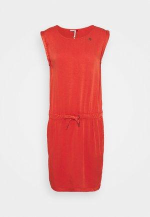 MASCARPONE - Robe d'été - chili red