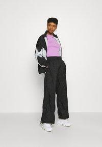 Nike Sportswear - STREET - Training jacket - black/pure platinum/white - 1