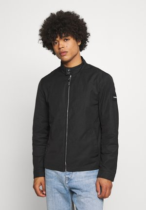 ICONIC HARRINGTON JACKET - Lehká bunda - black