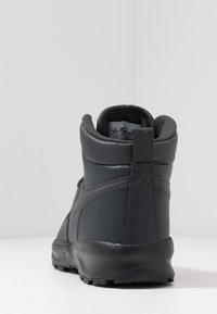 Nike Sportswear - MANOA '17 - High-top trainers - dark smoke grey/black - 3