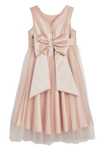PINK BRIDESMAID DRESS (3MTHS-16YRS)