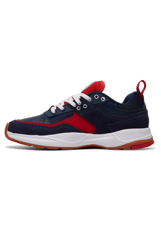 E.TRIBEKA  - Sneakers laag - navy/red