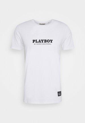 JAMIE TEE - T-shirt z nadrukiem - white