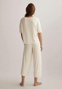 OYSHO - Pyjama bottoms - off white - 2