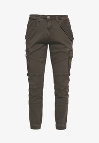 Alpha Industries - Cargo trousers - anthracite - 4