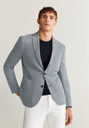 SANDAY - Blazer jacket - blau