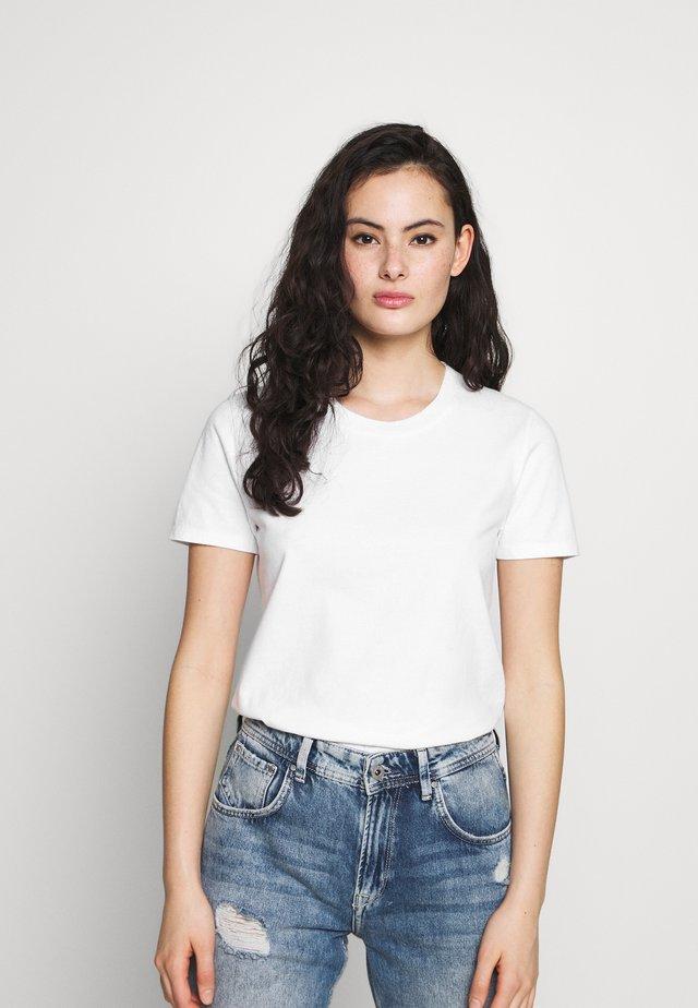 FIZVALLEY - T-shirt z nadrukiem - blanc