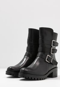 Pinto Di Blu - Cowboy/biker ankle boot - noir - 4