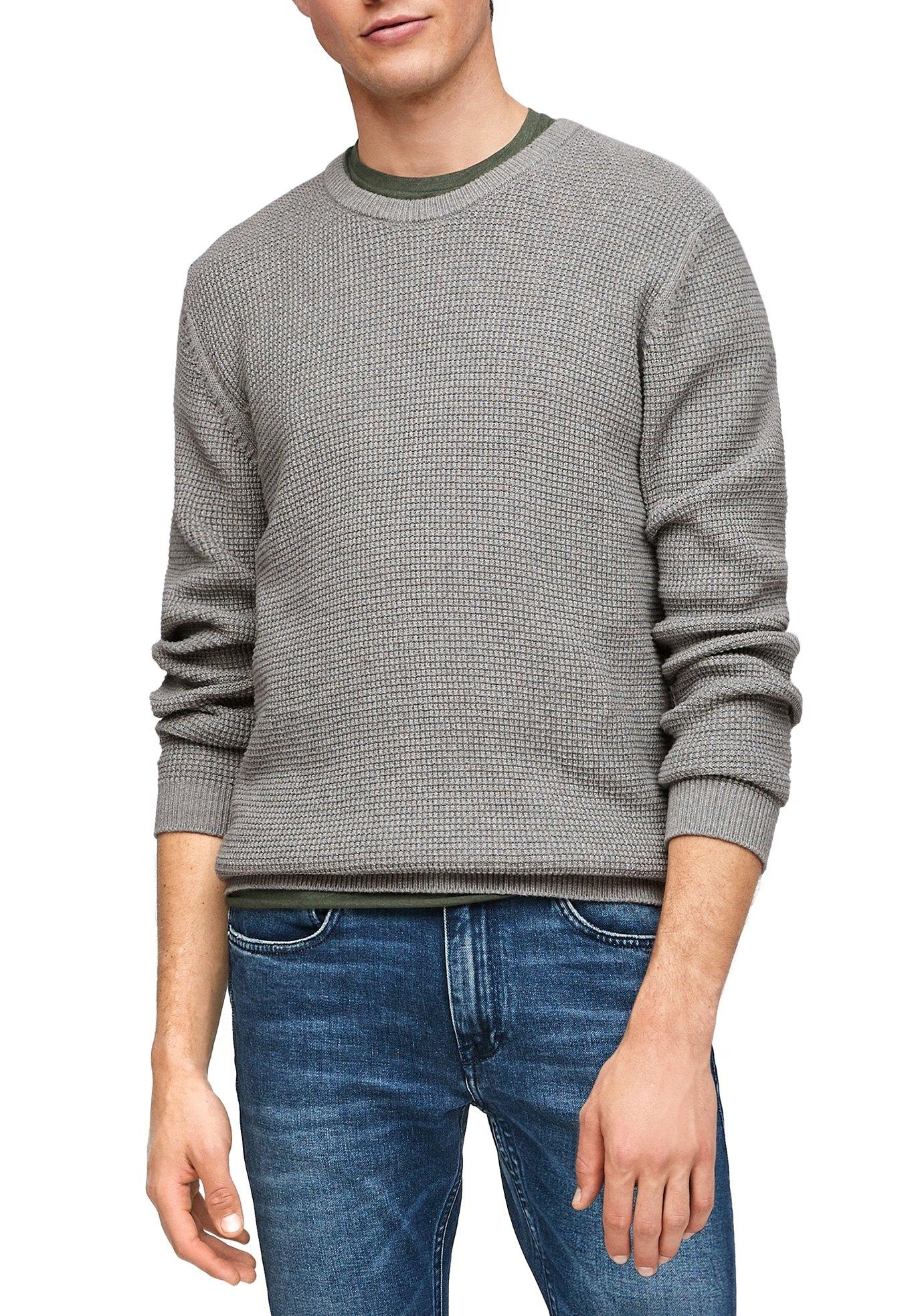 Homme MIT MUSTERSTRUKTUR - Pullover