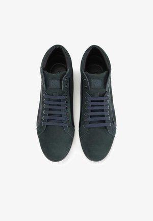 Botines con cordones - dark blue