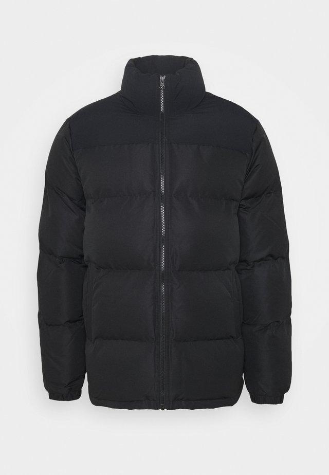 Kurtka zimowa - mono black