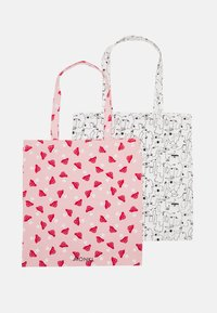 Monki - MAJA 2 PACK - Tote bag - pink dusty - 1