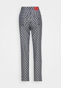 Fiorucci - CHECKERBOARD - Straight leg jeans - light vintage - 6