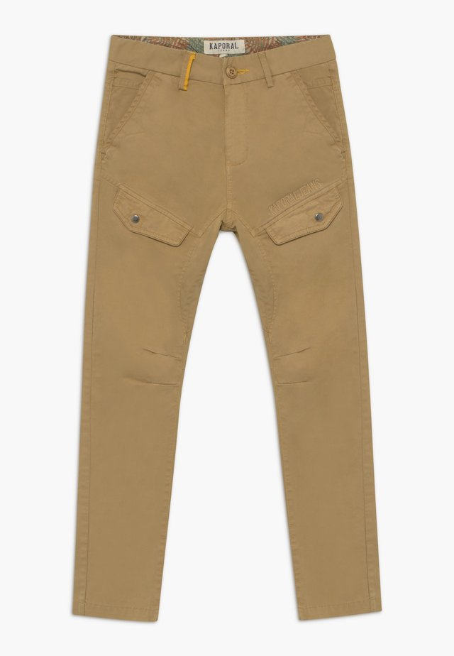 Cargo trousers - sand