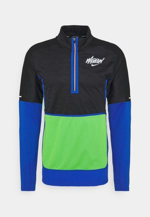 Veste de running - black/game royal/reflective silver