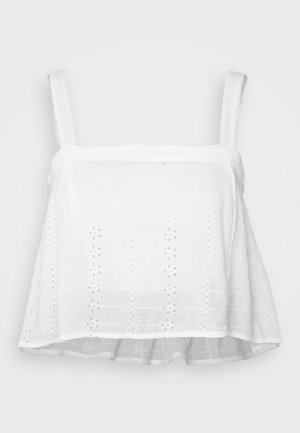 Blouse - white eyelet