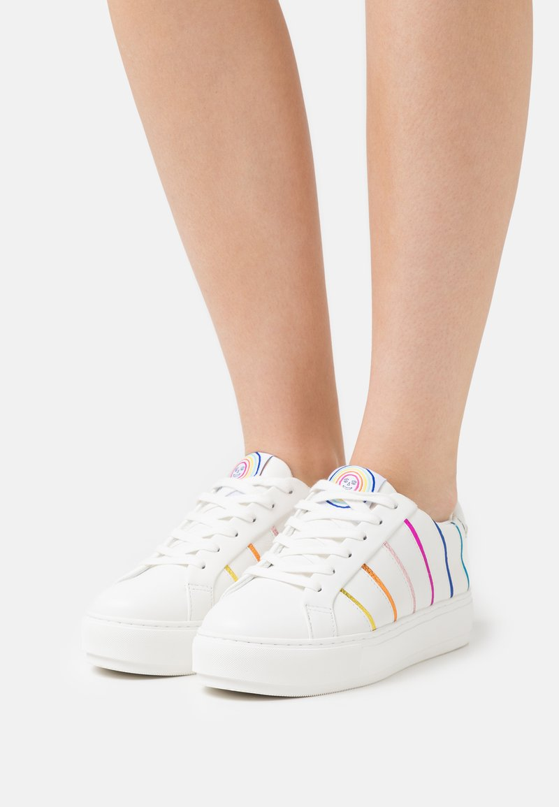 Kurt Geiger London - LANEY PIPING - Tenisky - white