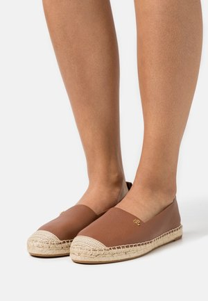 TUMBLED CAMERYN - Espadryle - deep saddle tan