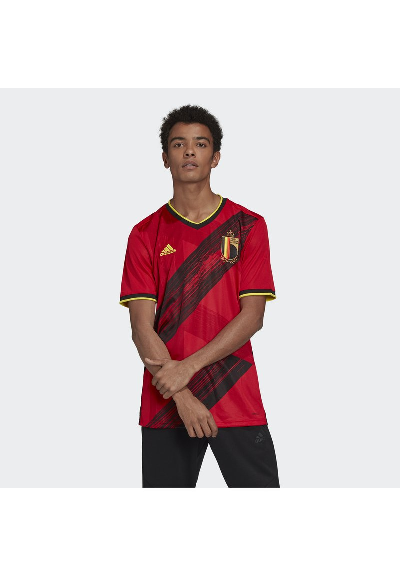 adidas Performance - BELGIUM RBFA HOME JERSEY - Article de supporter - red