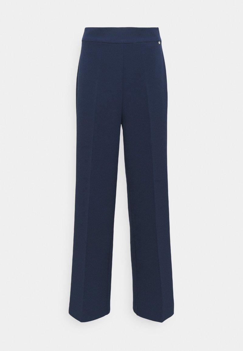 Mos Mosh - RITA GAIA PANT - Trousers - navy iris