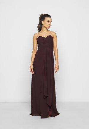IDINA - Maxi dress - dark plum