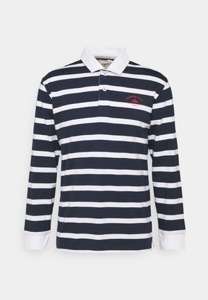 BOLD STRIPE RUGBY - Polo shirt - navy