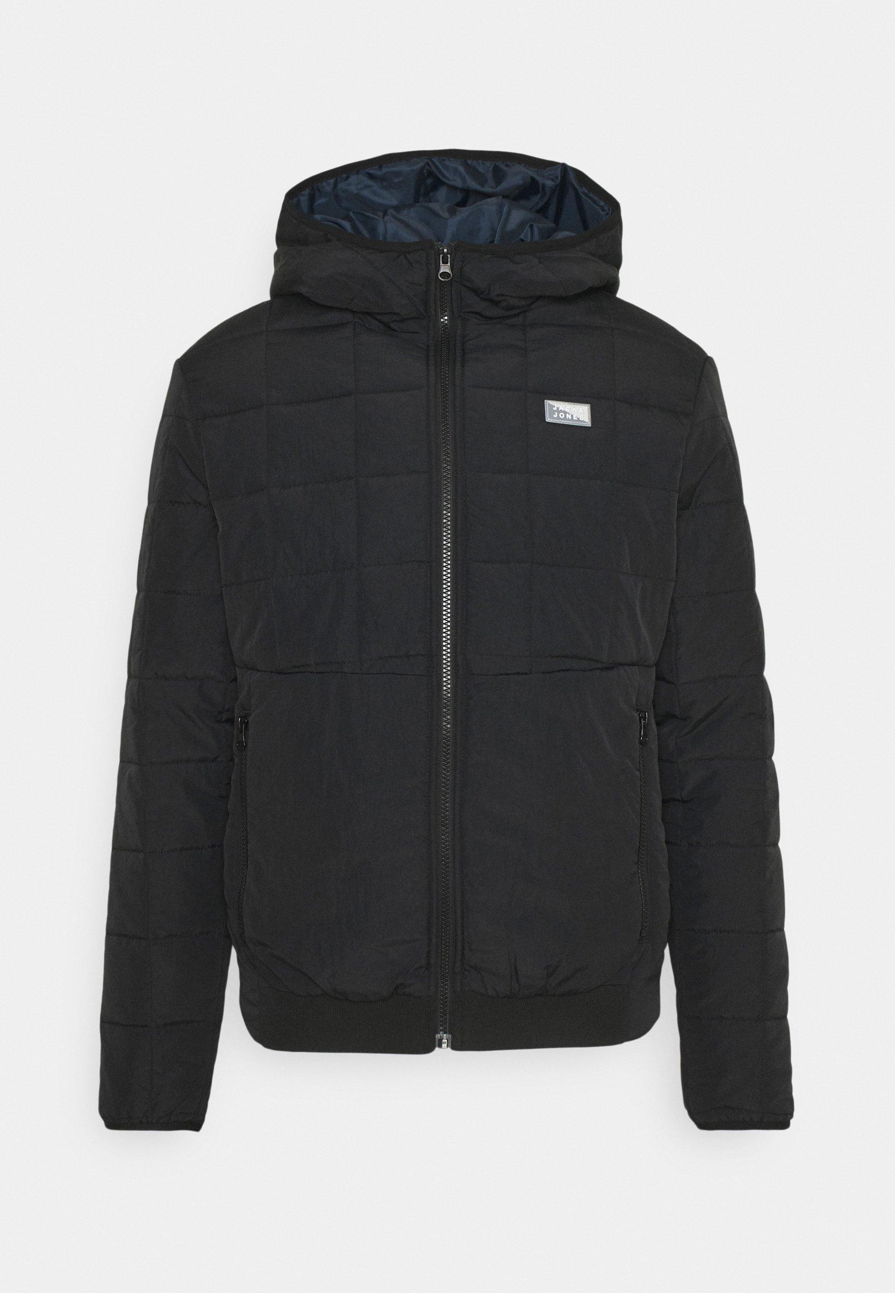 Men JCOMAGIC TWIST QUILTED JACKET HOOD - Light jacket
