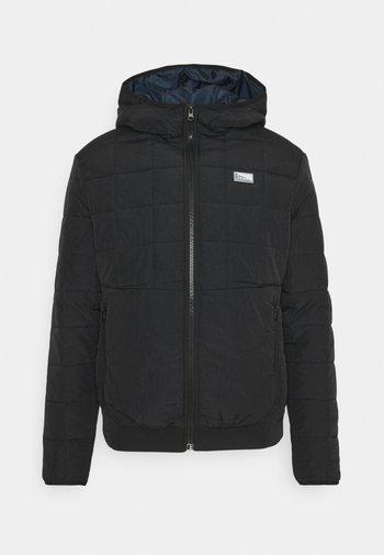 JCOMAGIC TWIST QUILTED JACKET HOOD - Light jacket - black