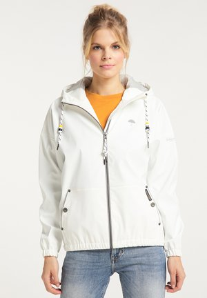 Waterproof jacket - weiss
