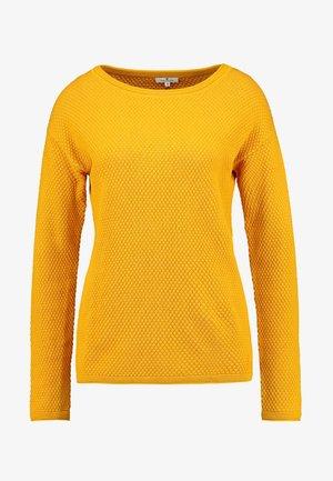 STRUCTURED - Jersey de punto - merigold yellow