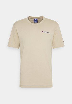 CREWNECK - T-shirt basique - beige