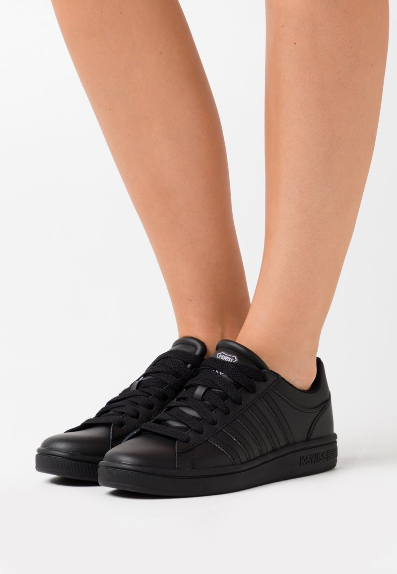 K-SWISS - COURT WINSTON - Trainers - black