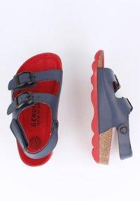 Genuins - KINDU VACHETTA - Sandals - navy - 1