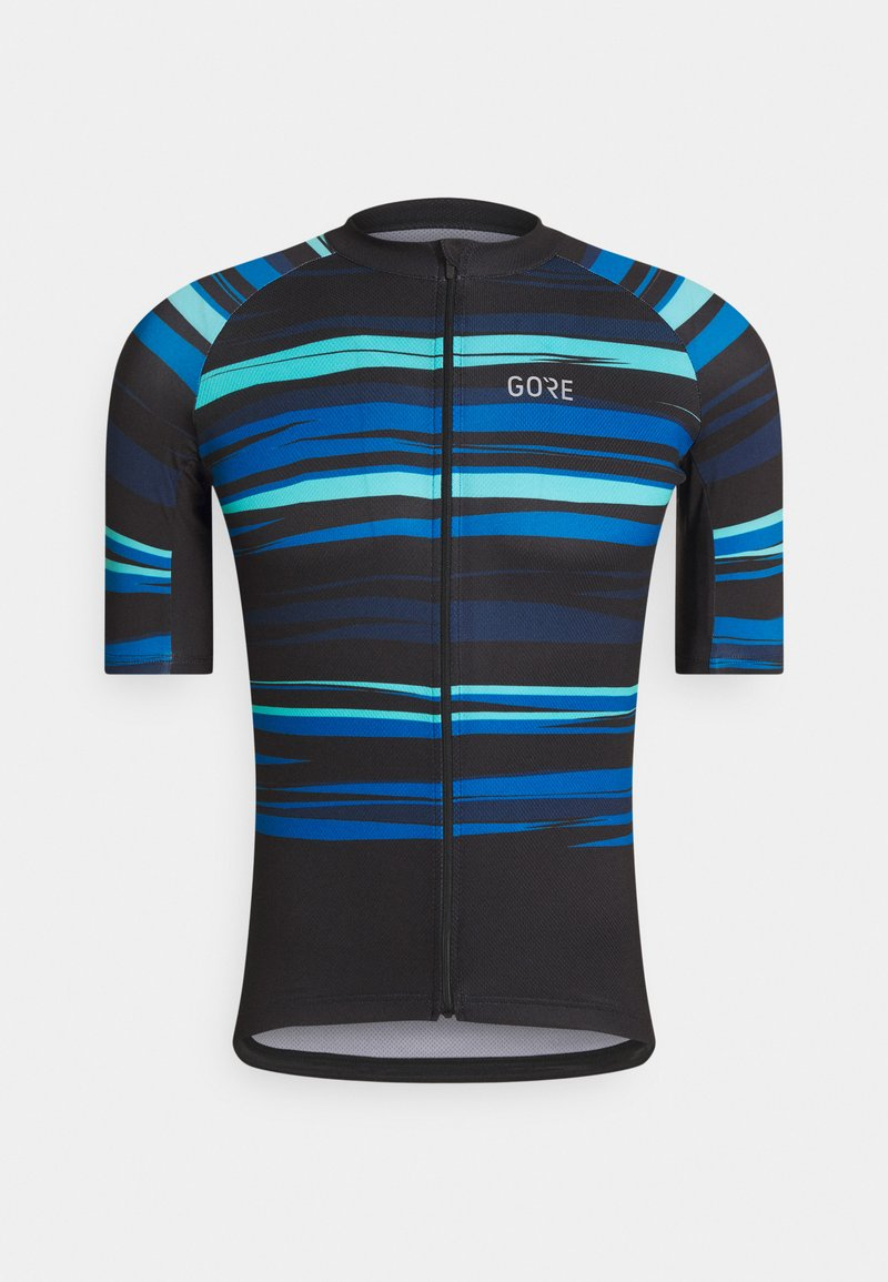 Gore Wear - SAVANA MENS - T-Shirt print - black/blue