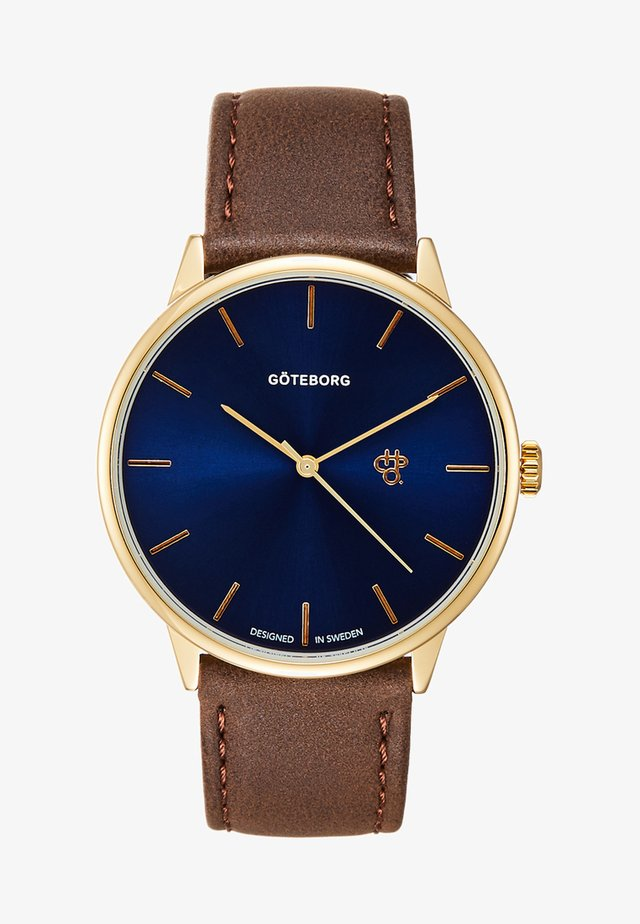 GÖTEBORG - Watch - navy/gold-coloured