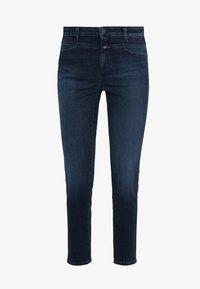 CLOSED - SKINNY PUSHER - Skinny džíny - dark blue - 3