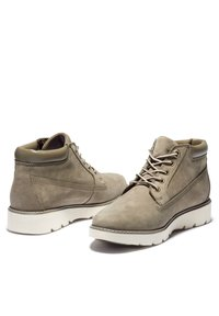 Timberland - KEELEY FIELD NELLIE - High-top trainers - olive nubuck - 3